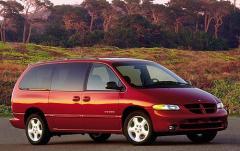 1999 Dodge Caravan exterior
