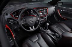 2016 Dodge Dart interior