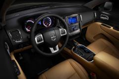 2012 Dodge Durango interior
