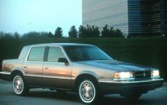 1992 Dodge Dynasty exterior