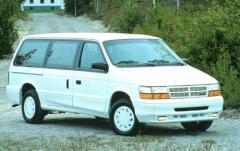 1991 Dodge Grand Caravan exterior