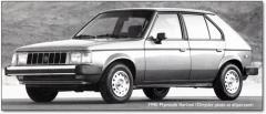 1990 Dodge Omni Photo 1