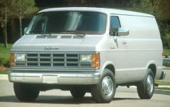 1993 Dodge Ram Van exterior