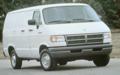 1996 Dodge Ram Van exterior
