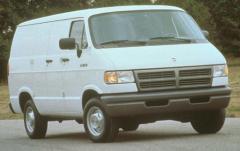 1997 Dodge Ram Van exterior