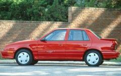 1990 Dodge Shadow exterior