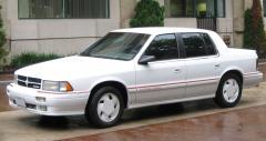 1990 Dodge Spirit Photo 1