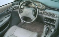 1993 Eagle Vision interior