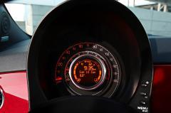 2013 Fiat 500 interior
