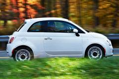 2013 Fiat 500 exterior
