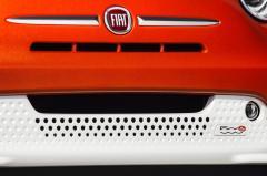 2016 Fiat 500e exterior