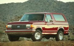 1991 Ford Bronco exterior