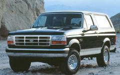 1993 Ford Bronco exterior