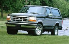 1995 Ford Bronco exterior