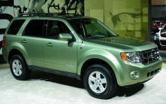 2007 Ford Escape Hybrid FWD Photo 4