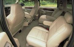 2003 Ford Excursion interior