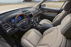 2016 Ford Explorer interior