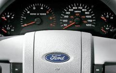2007 Ford F-150 interior