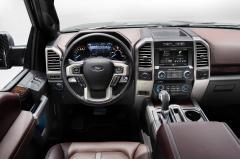 2015 Ford F-150 interior