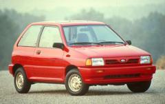 1992 Ford Festiva exterior