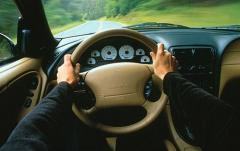 1998 Ford Mustang interior