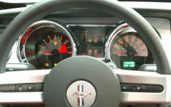 2005 Ford Mustang V6 Deluxe Coupe interior