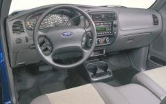 2003 Ford Ranger interior