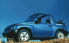 1997 Geo Tracker exterior