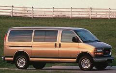 1998 GMC Savana exterior