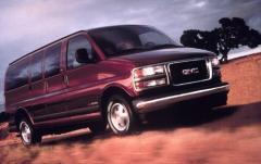 2001 GMC Savana exterior