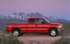 2001 GMC Sierra 1500 exterior