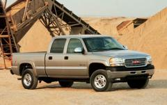 2001 GMC Sierra 3500 exterior