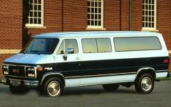 1993 GMC Vandura exterior