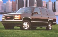 1997 GMC Yukon exterior
