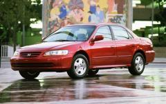 2001 Honda Accord exterior