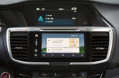 2017 Honda Accord interior