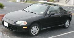 1993 Honda Civic Del Sol Photo 1