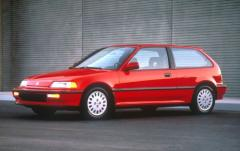 1991 Honda Civic exterior