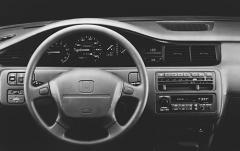 1992 Honda Civic interior