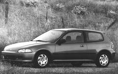 1992 Honda Civic exterior