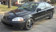 1996 Honda Civic Photo 3