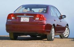 2001 Honda Civic exterior