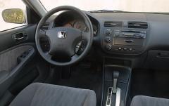 2001 Honda Civic interior