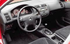 2002 Honda Civic interior