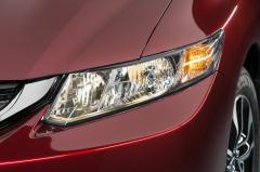 2013 Honda Civic LX Coupe 5-Speed MT exterior