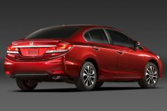 2014 Honda Civic LX Coupe 5-Speed MT exterior