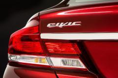 2014 Honda Civic exterior