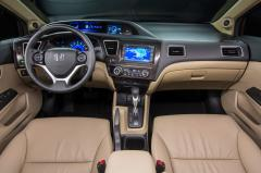 2014 Honda Civic LX Coupe 5-Speed MT interior