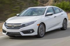 2016 Honda Civic exterior