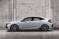 2017 Honda Civic exterior